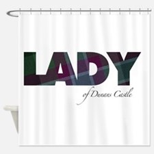 Lady of Dunans Castle Shower Curtain