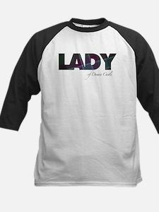 Lady of Dunans Castle Baseball Jersey