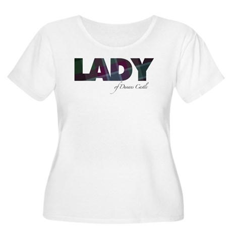 Lady of Dunans Castle Plus Size T-Shirt