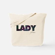 Lady of Dunans Tote Bag