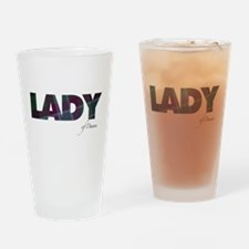 Lady of Dunans Drinking Glass