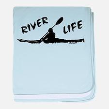River Life baby blanket