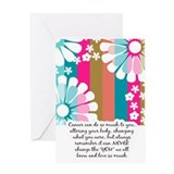Cancer cards Greeting Cards