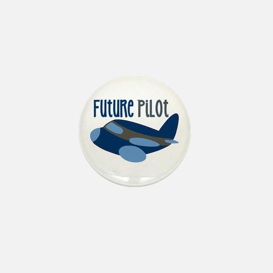 Future Pilot Mini Button