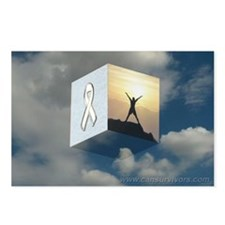 White Ribbon Postcards (Package of 8)