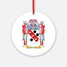 Clarkson Ornament (Round)