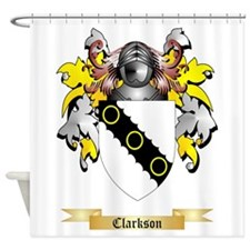 Clarkson 2 Shower Curtain