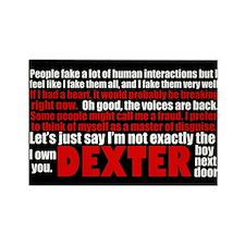 Dexter Quotes Rectangle Magnet