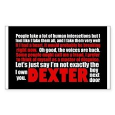 Dexter Quotes Decal