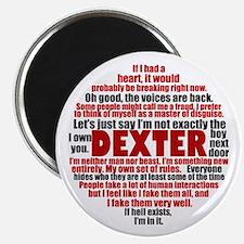 Dexter Quotes Magnet