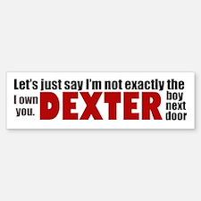 Dexter Quotes Bumper Bumper Sticker