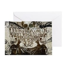 Pharaoh's Curse Greeting Card