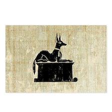 Jackal On Shrine Postcards (Package of 8)
