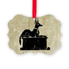 Jackal On Shrine Ornament