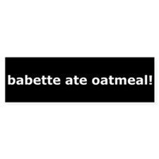 Gilmore Girls babette ate oatmeal Sticke