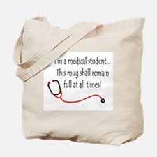 Medical Student Mug Tote Bag