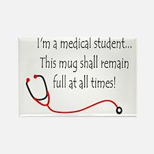 Medical Student Mug Rectangle Magnet