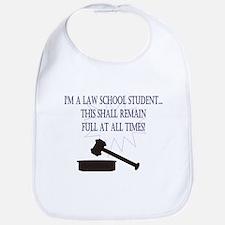 I'm a law school student. Bib