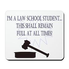I'm a law school student. Mousepad
