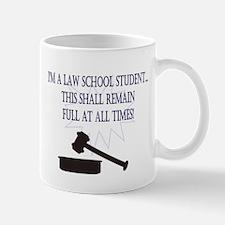 I'm a law school student. Mug