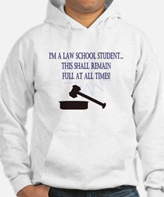 I'm a law school student. Hoodie