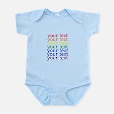 Cute Letters Infant Bodysuit