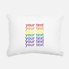 Cute Colors Rectangular Canvas Pillow