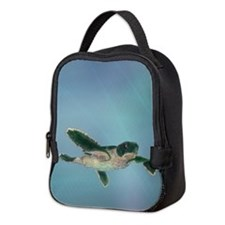 Baby Sea Turtle Neoprene Lunch Bag