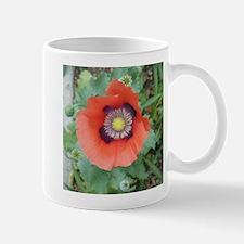 Red and Purple Flower Mug