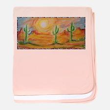 Desert, scenic southwest landscape! baby blanket