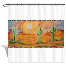 Desert, scenic southwest landscape! Shower Curtain