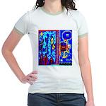 Nun - Nun The Wiser by Brett  Jr. Ringer T-Shirt