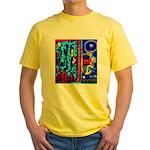 Nun - Nun The Wiser by Brett  Yellow T-Shirt