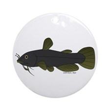 Bullhead Catfish Ornament (Round)
