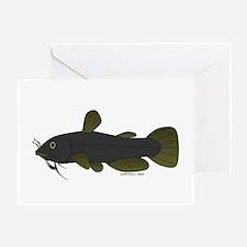 Bullhead Catfish Greeting Card