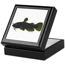 Bullhead Catfish Keepsake Box