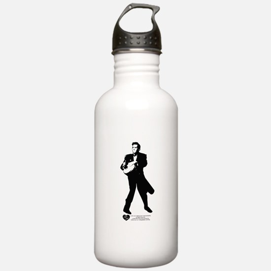 Ricky Conga Drum Sports Water Bottle