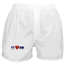 Peace Love Pennsylvania Boxer Shorts