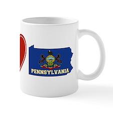 Peace Love Pennsylvania Mug