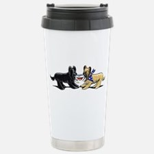 Briard Hat Off-Leash Art™ Travel Mug