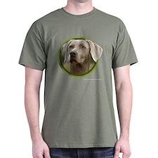 Weimaraner Art T-Shirt