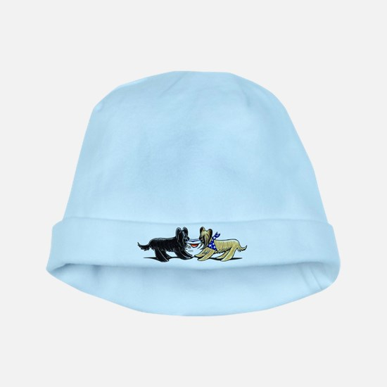 Briard Hat Off-Leash Art™ baby hat