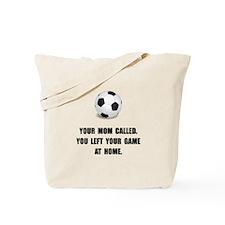 Soccer Game At Home Tote Bag