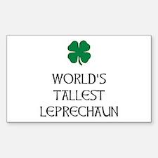 Tallest Leprechaun Decal