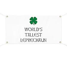 Tallest Leprechaun Banner