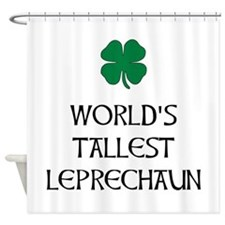 Tallest Leprechaun Shower Curtain
