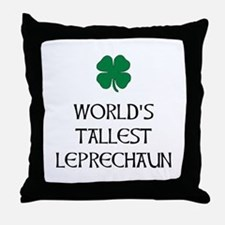 Tallest Leprechaun Throw Pillow