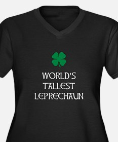 Tallest Leprechaun Plus Size T-Shirt