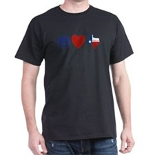 Peace Love Texas T-Shirt