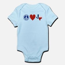 Peace Love Texas Infant Bodysuit